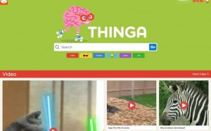 Thinga-arama motoru-Youtube kids