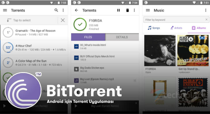 android torrent uygulaması, bittorent
