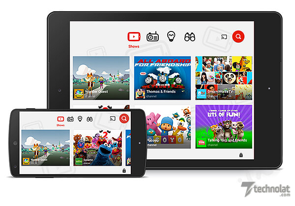 youtube-kids-red-birlesiyor
