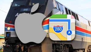apple-haritalar-tren